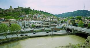 Исторический центр Тбилиси. Фото: © Sputnik/ Alexander Imedashvili, http://sputnik-georgia.ru/politics/20160504/231480702.html