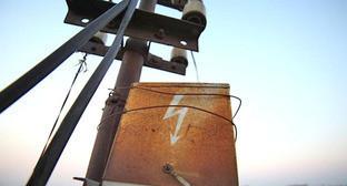 Электрический столб. Фото: Юрий Гречко / Югополис