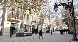 Улица Джавад-хана в Гянджа, Азербайджан. Фото: Nuhun, https://ru.wikipedia.org/wiki/Гянджа#/media/File:Cavad_Xan-2.JPG