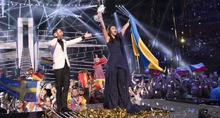 "Победительница конкурса ""Евровидение-2016"" Фото: Поставив Андрес (ЕВС), http://www.eurovision.tv/page/news?id=ukraine_wins_2016_eurovision_song_contest"