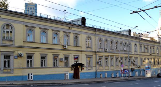 Басманный районный суд города Москвы. Фото http://basmanny.msk.sudrf.ru/