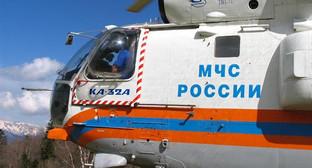 Вертолёт МЧС. Фото Риммы Перминовой ГУ МЧС по Краснодарскому Краю