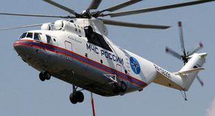 Поисково-спасательный вертолет МЧС. Фото http://04.mchs.gov.ru/