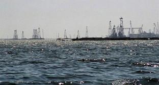 нефтяной город в Каспийском море (Баку, Азербайджан). Фото: http://www.lostgorod.ru/foto83.html