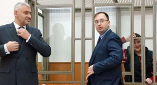 Адвокаты Надежды Савченко Марк Фейгин (слева) и Николай Полозов. Фото: Anton Naumlyuk (RFE/RL)