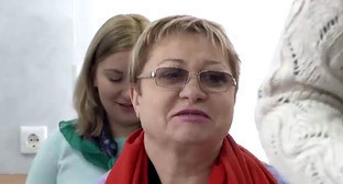 Екатерина Лукьяненко. Кадр из видео пользователя Астрахань 24 https://www.youtube.com/watch?v=-5yEGd6fMIQ