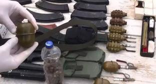 Оружие, боеприпасы. Фото http://nac.gov.ru/