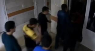 Участники массовой драки в Минводах. 20 сентября 2014 г. Кадр из видео пользователя Sergiy Korolyov https://www.youtube.com/watch?v=RedGMohomRM