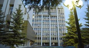 Здание правительства в Цхинвале. Фото: © Sputnik/ Ада Багиан, http://sputnik-ossetia.ru/South_Ossetia/20160526/1999848.html