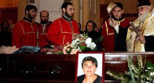 Похороны Мананы Джабелия. Декабрь 2006 г. Фото: RFE/RL