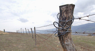 Граница Южной Осетии и Грузии. Фото http://georgia-news.org/