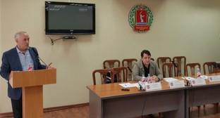 Участники заседания в Общественной палате Волгоградской области. Фото: Opvlg.ru