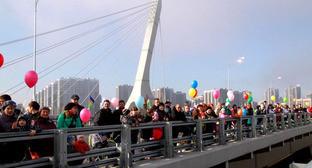 Мост в Санкт-Петербурге, который предполагают назвать именем Ахмада Кадырова. Фото www.gov.spb.ru