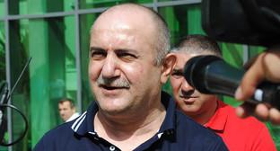 Самвел Бабаян в Степанакерте. Нагорный Карабаха.6 июня 2016 год. Фото информационное агентство Karabakh-open.info