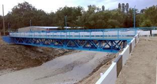 Новый мост на дороге между Нижним Дженгутаем и Доргели. Фото предоставлено пресс-службой администрации Буйнакского района