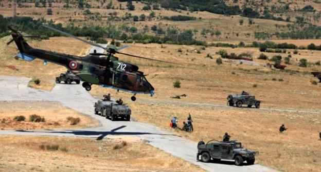Военные учения в Азербайджане. Фото http://minval.az/news/62955