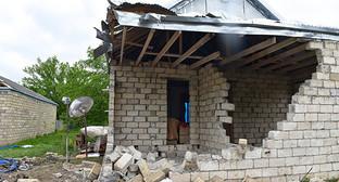 Разрушенный дом в Азербайджане. Фото: © Sputnik/ Murad Orujov http://ru.sputnik.az/karabakh/20160623/405841771.html