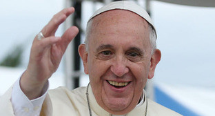 Глава Римско-католической церкви папа Франциск. Фото: Korea.net https://ru.wikipedia.org/