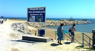 Городской пляж Каспийска. Фото: Kaspiysk.org