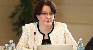 Министр обороны Грузии Тина Хидашели / Фото: static.newsgeorgia.ge