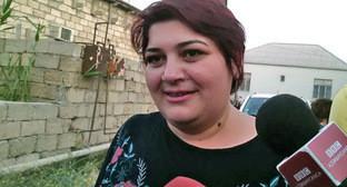 Хаджиджа Исмайлова. Фото http://ann.az/ru/arasdirmaci-jurnalist-xedice-ismayil-evinde-fotolar-rusca/#.V3J2z_mLTbg