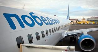 "Самолёт авиакомпании ""Победа"". Фото: http://www.riadagestan.ru"