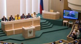Заседание Совета Федерации. Фото: http://www.council.gov.ru