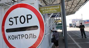 Пункт пограничного контроля. Фото: © Sputnik/ Андрей Иглов http://sputnikarmenia.ru/incidents/20160627/4057246.html