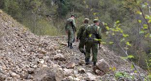 Пограничники на границе Южной Осетии и Грузии. Фото: Sputnik/Ада Багиан