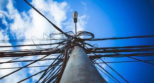 Электрический столб. Фото: Максим Тишин / Югополис
