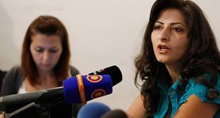Адвокат Лусине Саакян. Фото: PanARMENIAN Photo / Hrant Khachatryan