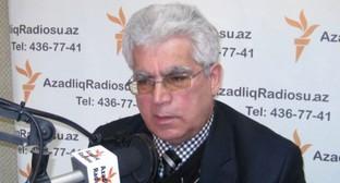 Асабали Мустафаев. Фото: RFE/RL