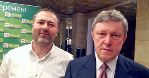 """Лидер партии """"Яблоко"""" в Дагестане вошел в список кандидатов в Госдуму"""