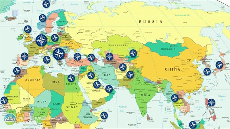 Концентрация сил НАТО...