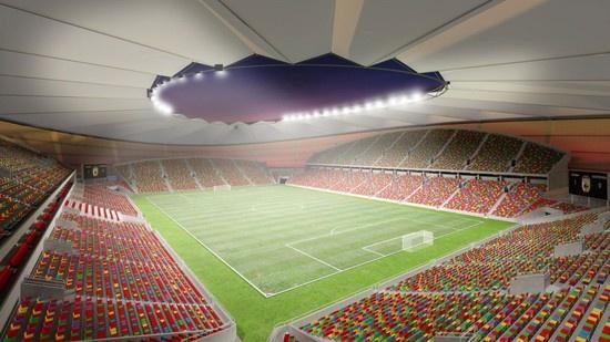 новый футбольный стадион