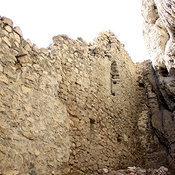Cover vnutri peschery skalnoy kreposti